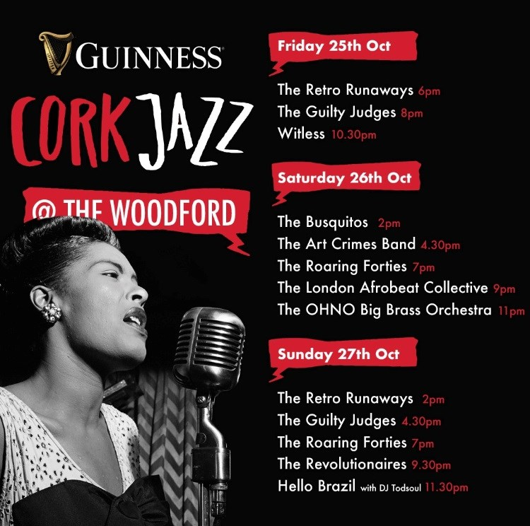 Jazz Weekend at the Woodford