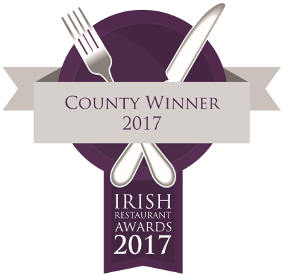 County Winner 2017 - Irish Restaurant Awards